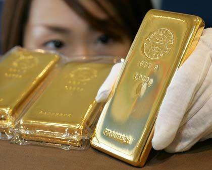 Glänzend: Gold zählt in Krisenzeiten zu den beliebten Anlageformen