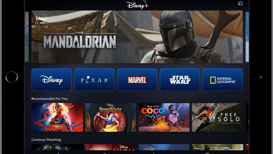 Disney+ punktet mit Streamingangebot