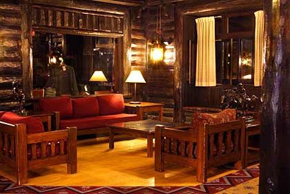 El Tovar Lodge: Salons im Stil der Jahrhundertwende