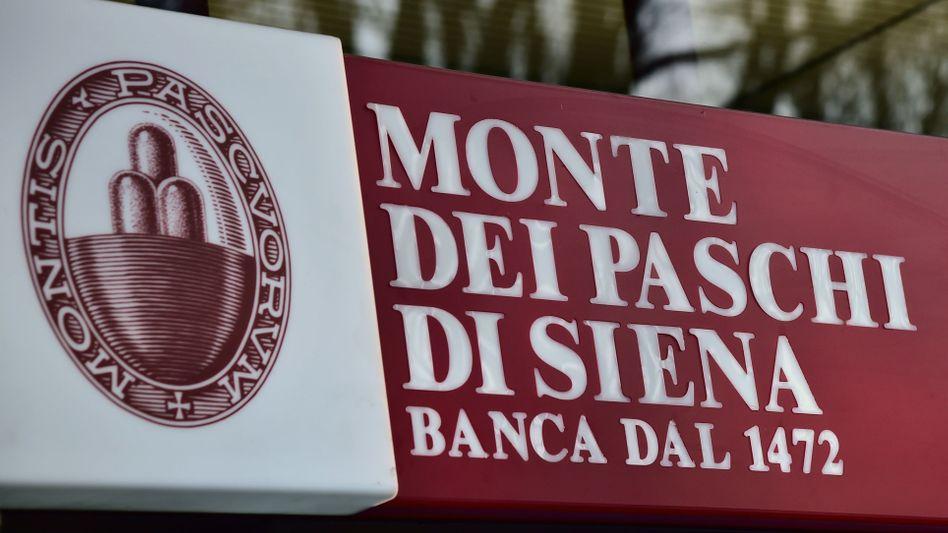 Alt und offenbar in höchster Not: Italiens Krisenbank Monte dei Paschi