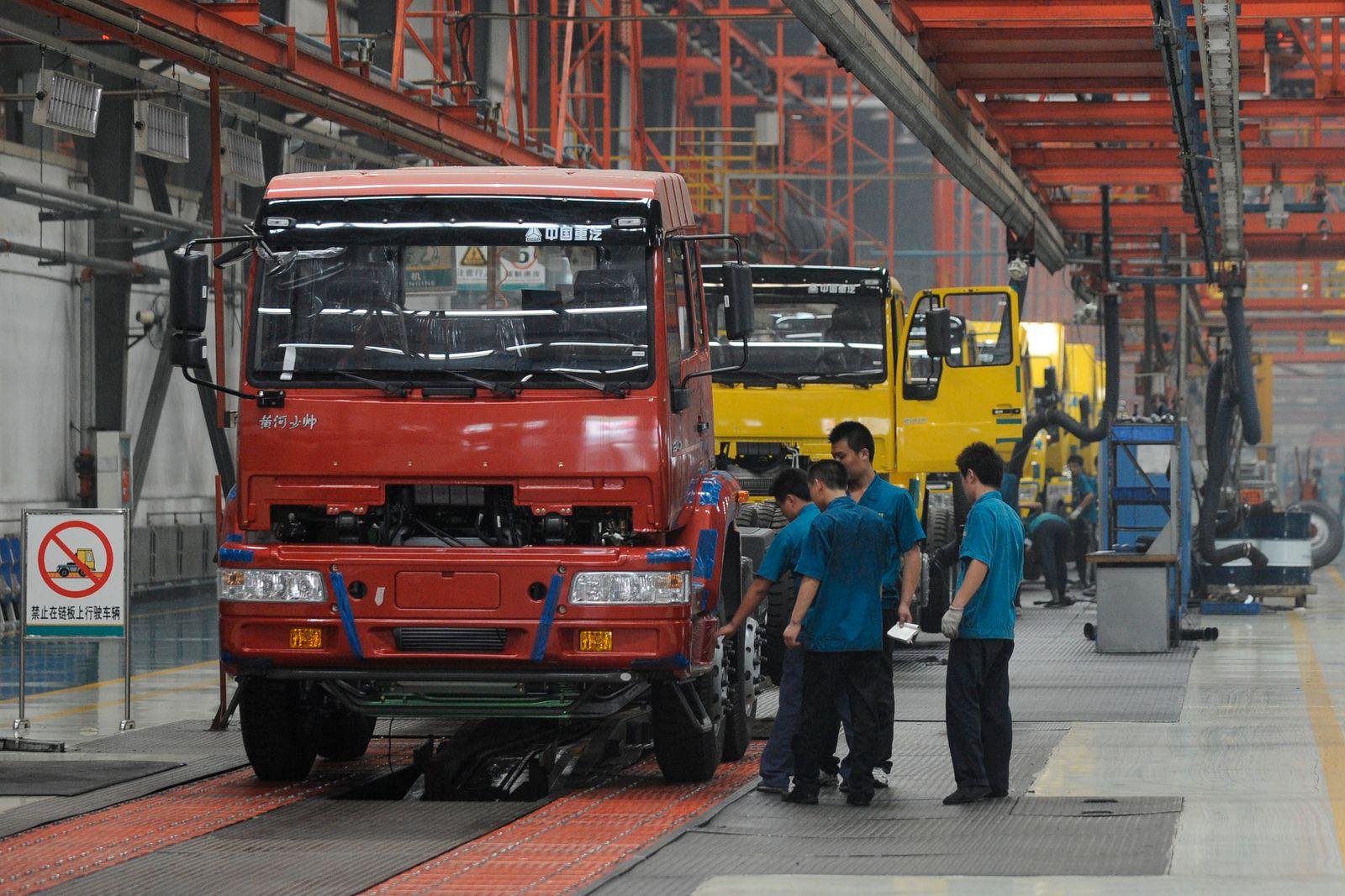 NICHT VERWENDEN China National Heavy Truck Group / Werk