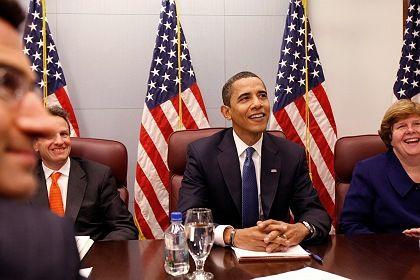Billionen-Jongleur: Der künftige US-Präsident Obama will die Regeln für die staatliche Bankenhilfe ändern