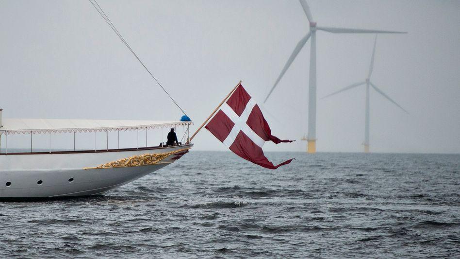 Offshore-Windpark bei Anholt: Dänemark wird es gerade etwas viel mit den Windrädern