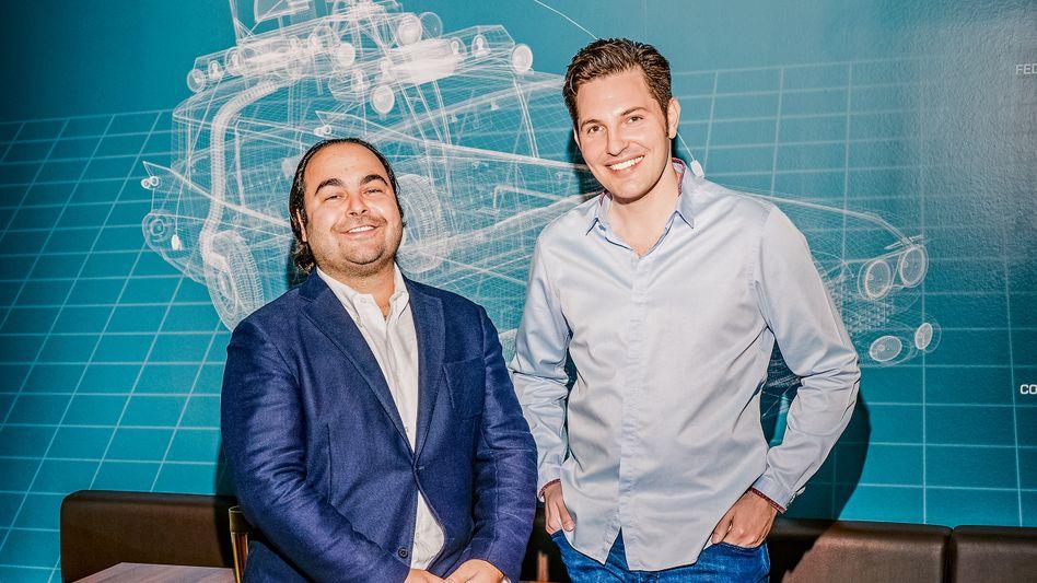 Starverkäufer: Christian Bertermann (r.) und Hakan Koç haben den größten Gebrauchtwagenhändler Europas aufgebaut. Jetzt soll der Börsengang kommen.