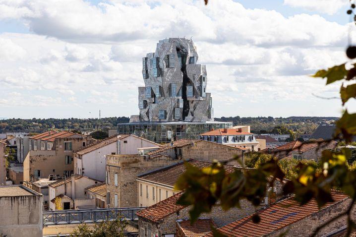 Über den Dächern von Arles: Der Luma-Turm von Frank Gehry