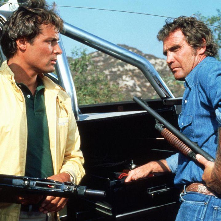 Ein Colt für alle Fälle: TV-Held Colt Seavers (Lee Majors) hatte stets ein paar Wunschverstärker im Kofferraum