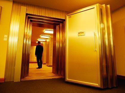 Im Visier der US-Steuerfahnder: Schweizer Banken, hier ein Tresor in Zürich