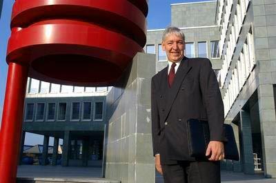 Prima Klima: Hans Marti, Manager der Schweizer Kantons Zug, freut sich über ...