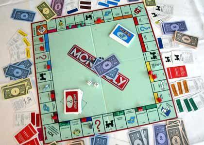 Monopoly: Städte ringen um einen Platz auf dem Brettspiel