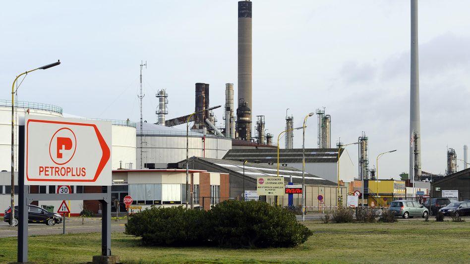 Petroplus-Raffinerie in Antwerpen: Schweizer Unternehmen am Abgrund