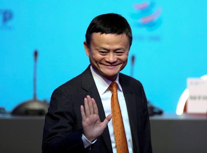 Ist dann ma weg: Jack Ma.