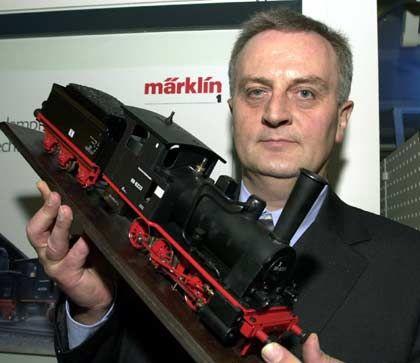 Imposant: Spur-1-Lok mit Echtdampfantrieb der Baureihe 89