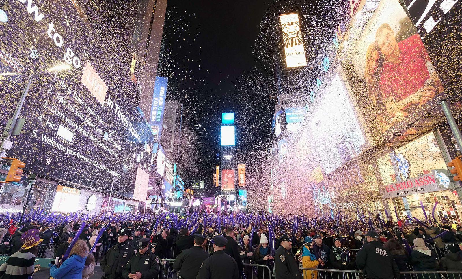 Neujahr 2017/ New York