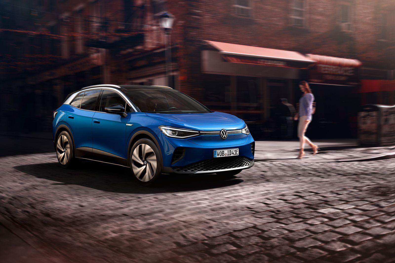 ID.4 Volkswagen / Frontansicht