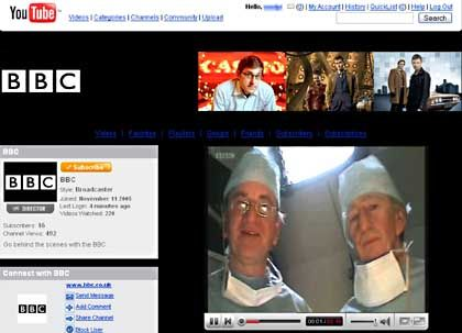 BBC-Themenkanal bei YouTube: Die Briten nutzen die Videoplattform als Vertriebsmedium