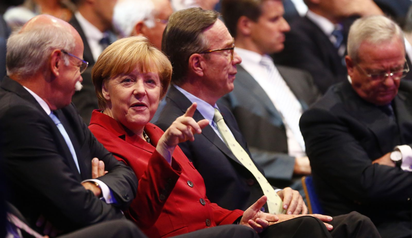 Merkel / Zetsche / Wissmann / Winterkorn