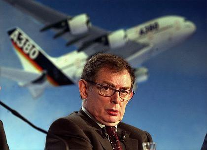 Einer von vielen: Auch der ehemalige Airbus-Chef Forgeard verkaufte vor der Hiobsbotschaft EADS-Aktien mit Gewinn.