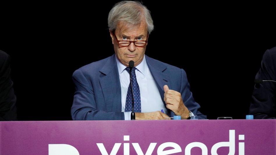 Vincent Bolloré: Der Unternehmer und Milliardär kontrolliert mit einem Anteil von rund 29 Prozent den Medienkonzern Vivendi und greift nun nach dem französischen Wettbewerber Lagardère