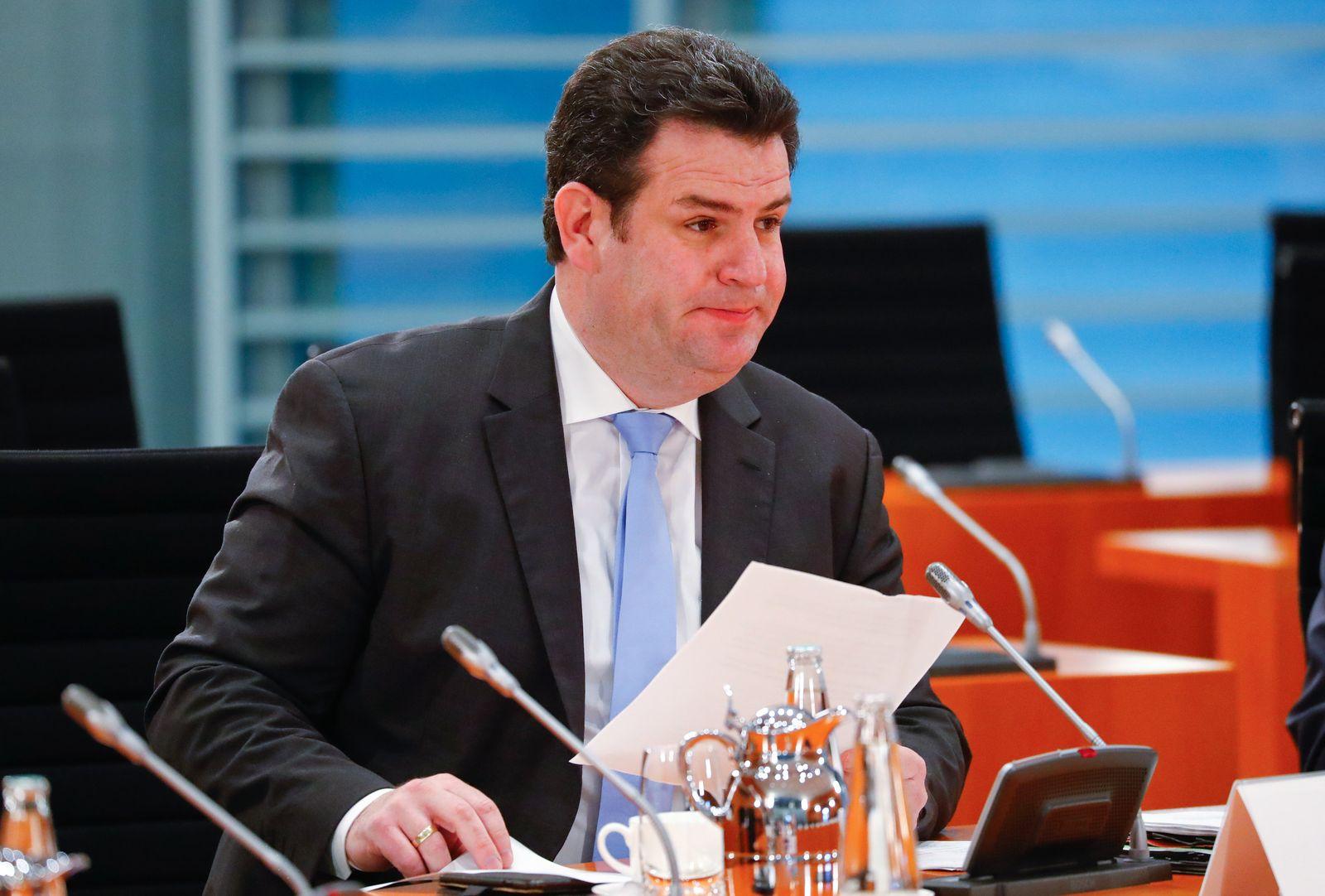 Bundesarbeitsminister Heil