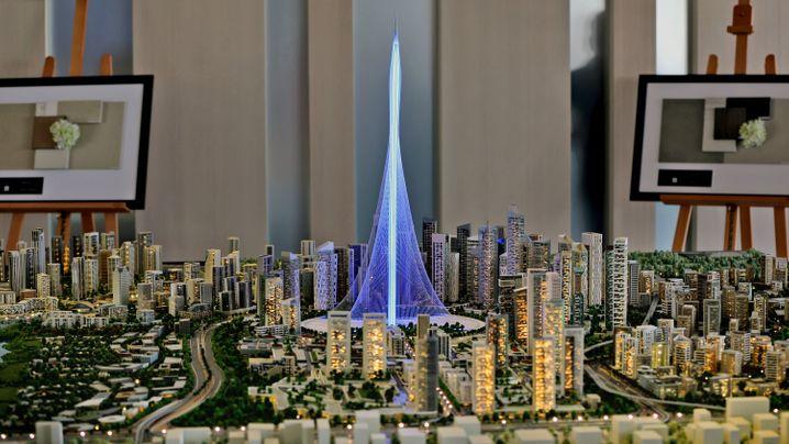 Super-Wolkenkratzer: Hoch im Himmel