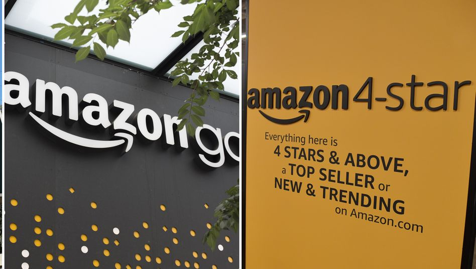 Amazons Laden-Offensive: Whole-Foods, Amazon Go und Amazon 4-star-Läden