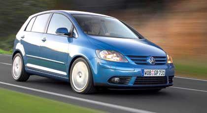 Mehr Platz: VW Golf Plus mit höherer Dachlinie und größerem Raumangebot