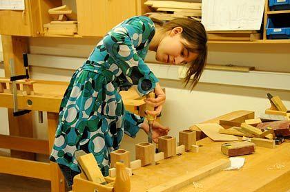Nur für Mädchen: Werkstatt in der Heimschule Kloster Wald in Baden-Württemberg
