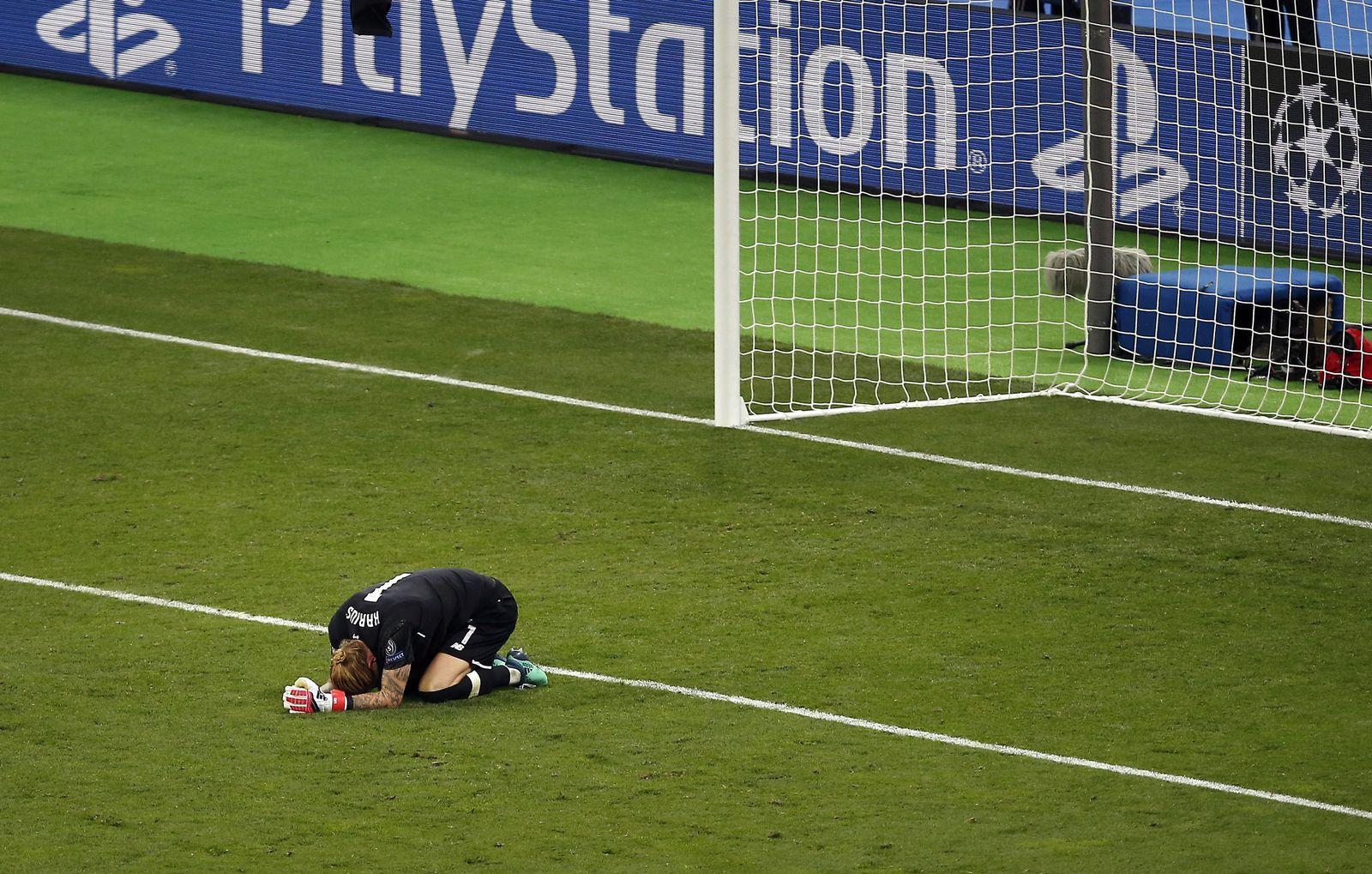 Ukraine Soccer Champions League Final