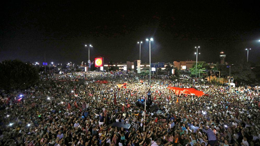 Putsch in der Türkei: Die Bilder der Nacht