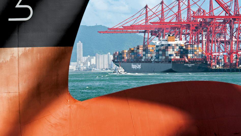 """Containerschiff """"Chicago Express"""" von Hapag-Lloyd: Großaktionär Kühne macht Druck"""