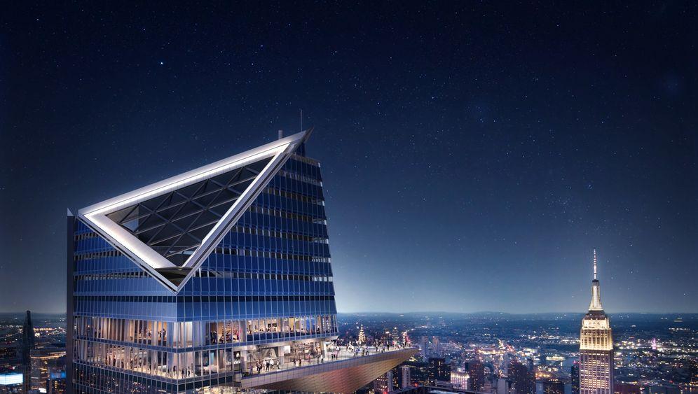 The Edge: New Yorks spektakuläre neue Aussichtsplattform