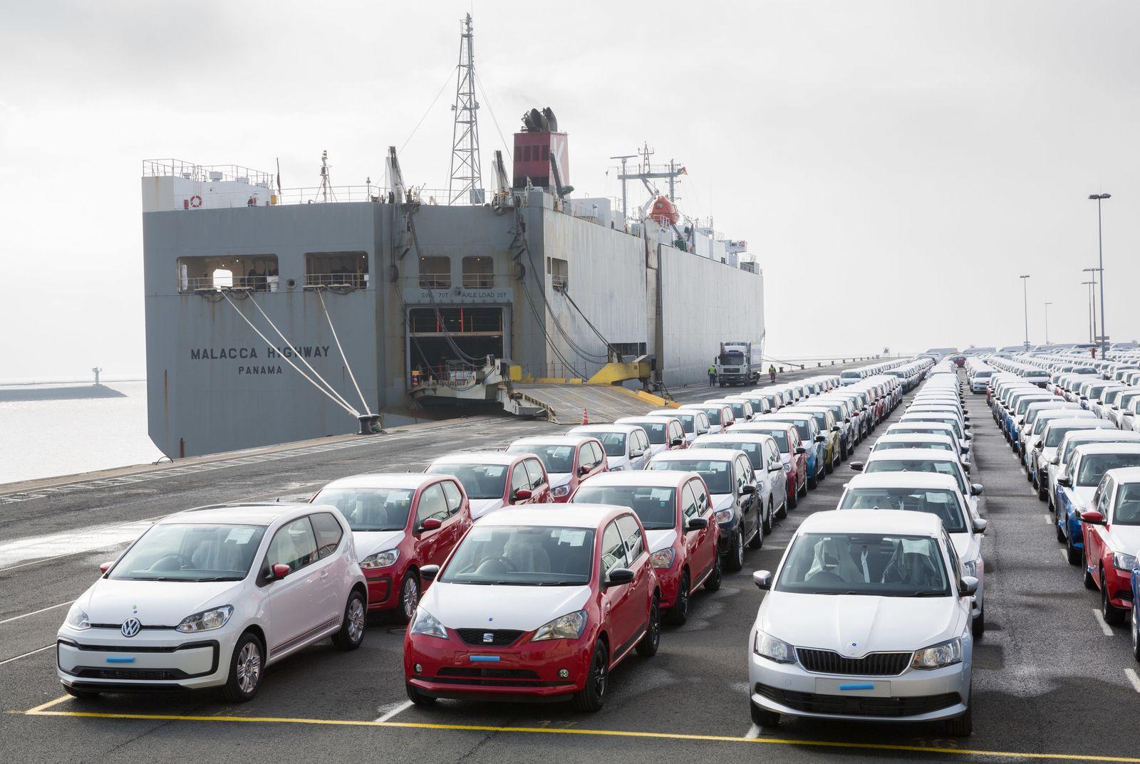 Auto Export Hafen Emden