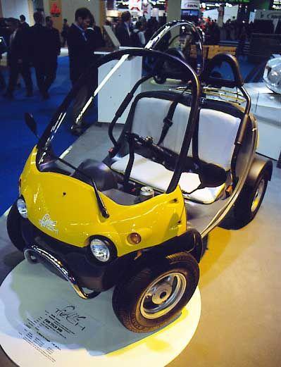 Scootcars wie der Fun Tech 350 leisten bis zu 14 PS und sind 75 km/h schnell