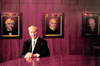 Gegen Börsenpläne: Familienpatriarch Reinhard Mohn