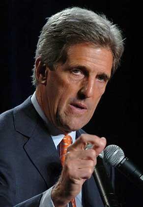 Finanziell wenig Spielraum: Herausforderer John Kerry
