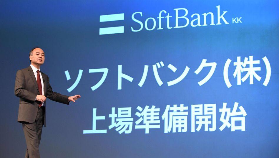 Sofbank-Chef Masayoshi Son: Zwei Schritte vor, einen zurück - bei Sprint Nextel klappte die Fusion mit T-Mobile US auch erst im dritten Anlauf
