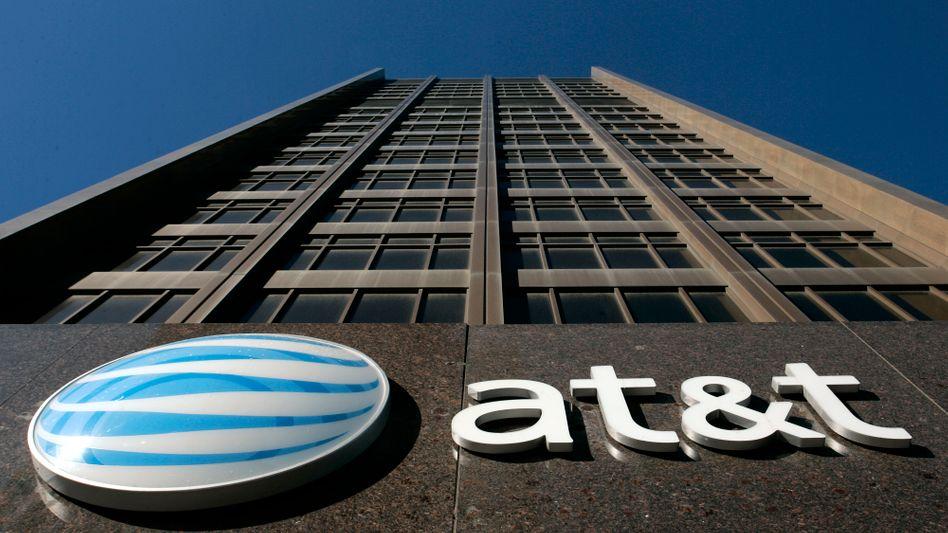 Zentrale in Detroit: Der US-Telekom-Konzern AT&T hat ernsthafte Probleme mit den Auswirkungen des Zinstiefs