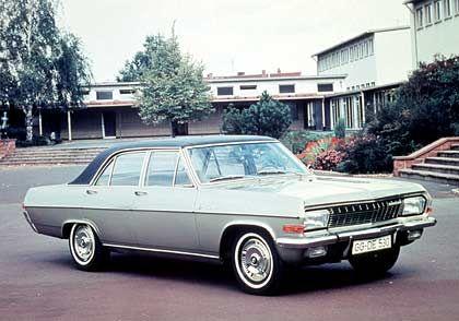 Leistungsstark durch die 60er Jahre: Opel Diplomat