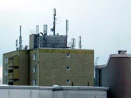 Hochhausantennen im Südosten Münchens: Experten streiten, ob Elektrosmog gefährlich ist
