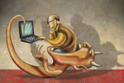 Computerviren: Das Dauerproblem PC-Virus schien lange unter Kontrolle - bis Conficker kam