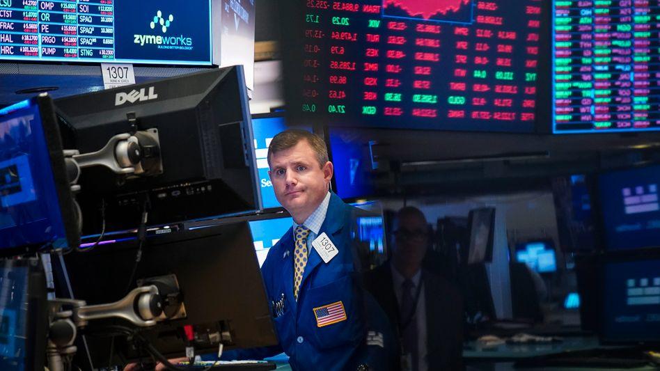 Händler an der Wall Street: Amerikas Börse wird automatisiert.