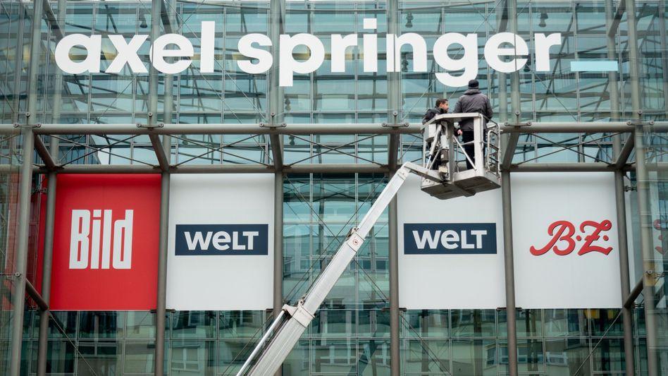 Medien des Axel-Springer-Verlags: Nun müssen nur noch die Kartellbehörden zustimmen