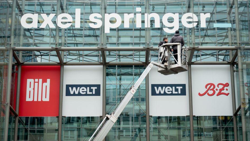KKR kann durchregieren: Zum Jahresende werden dem US-Investor fast 45 Prozent des Medienkonzerns Axel Springer gehören