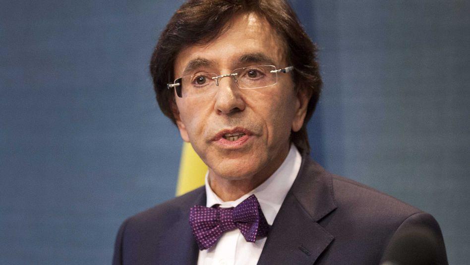 Verschafft sich Luft: Belgiens Premier Elio Di Rupo