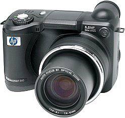 Weniger Zoom, dafür massig Pixel: Hewlett-Packard Photosmart 945