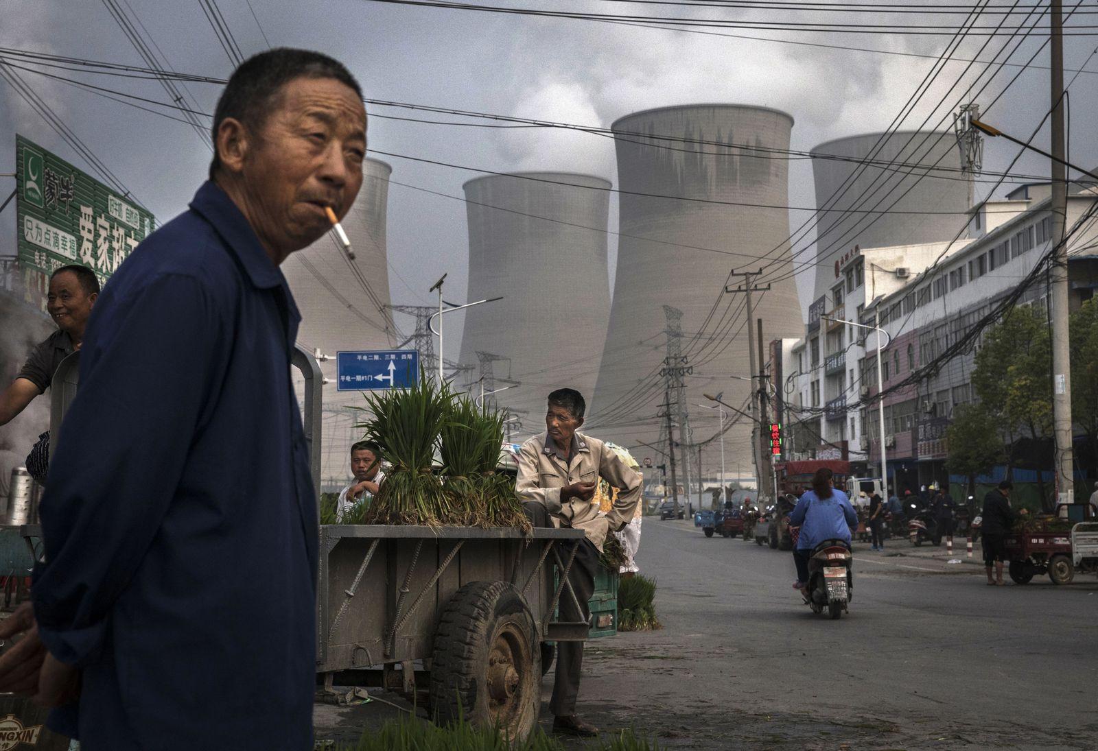 Kohlekraftwerk / China