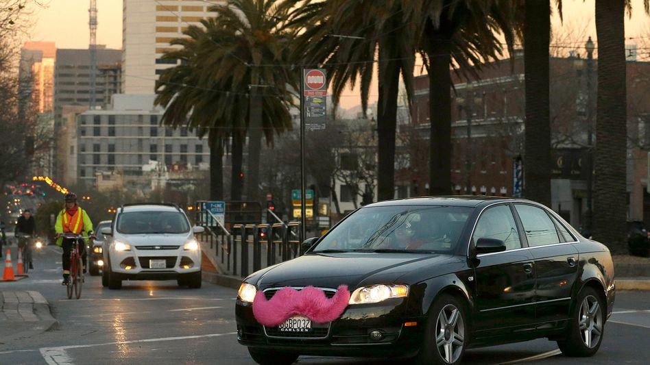 Lyft-Car in San Francisco: Google-Mutter Alphabet erhöht den Einsatz