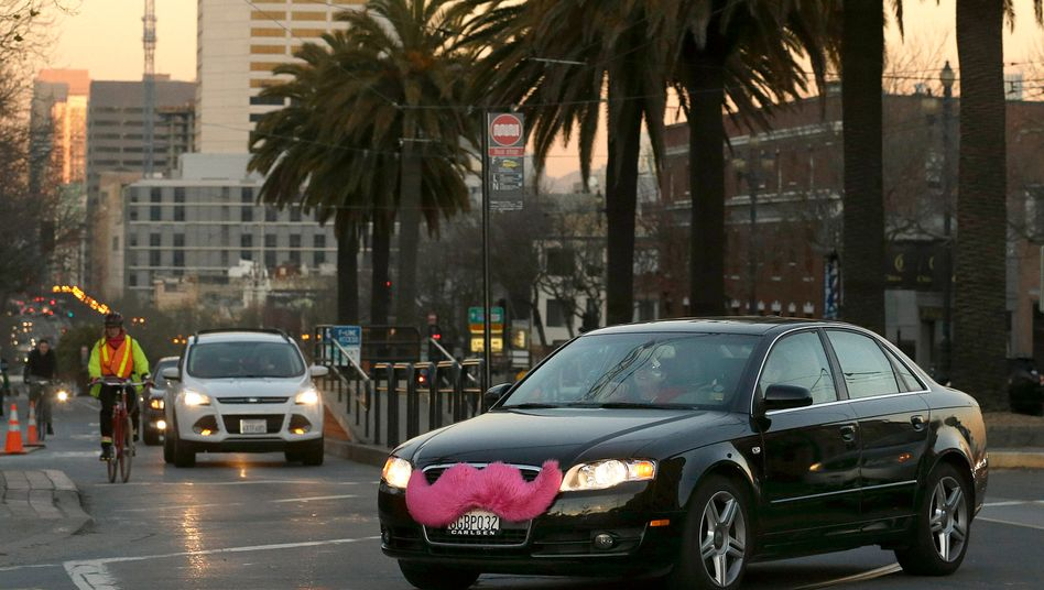 Lyft-Car in San Francisco: Google-Mutter Alphabet erhöht den Einsatz