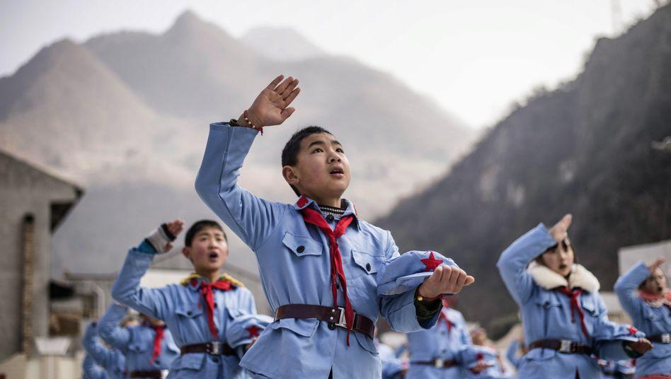 Schüler in Beijuan: Die Diskussion über die Richtigkeit chinesischer Wirtschaftsdaten währt schon lange