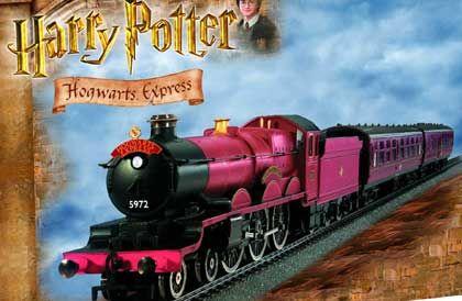 """Prominent: Der """"Hogwarts Express"""" aus den Harry-Potter-Filmen"""